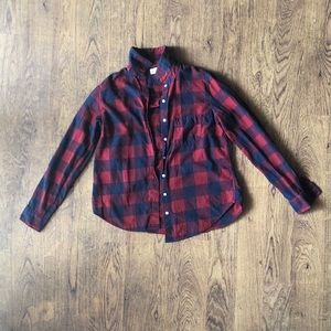 Tops - FLANNEL BUTTON DOWN TOP 🌟